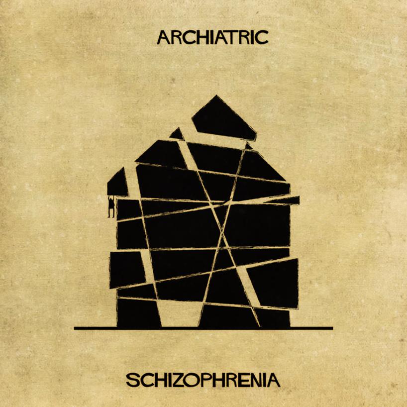Ruhsal bozuklukları açıklamak için mimariyi kullanmak